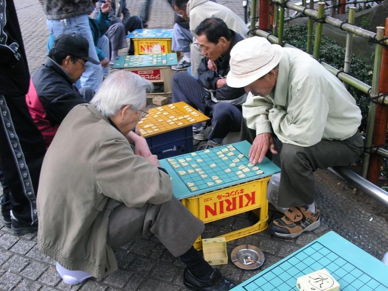 Shogi - Xadrez japonês - shogi xadrez japones 1