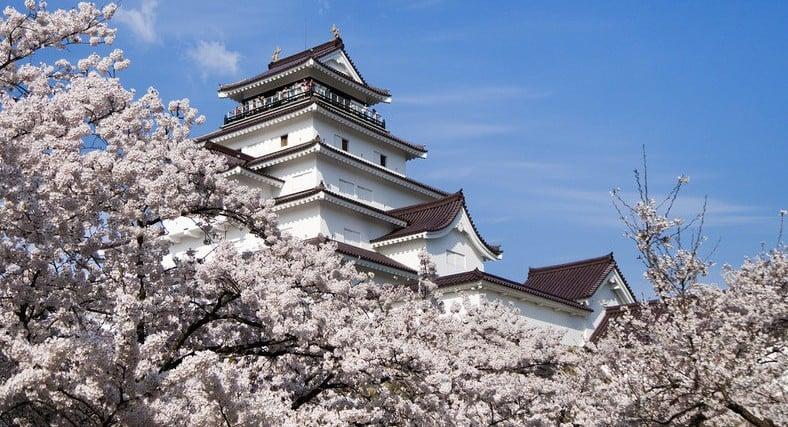 Castelo de aizuwakamatsu