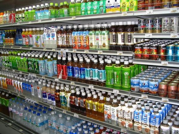 Konbini - lojas de conveniência no japão - bebidas loja konbini 1