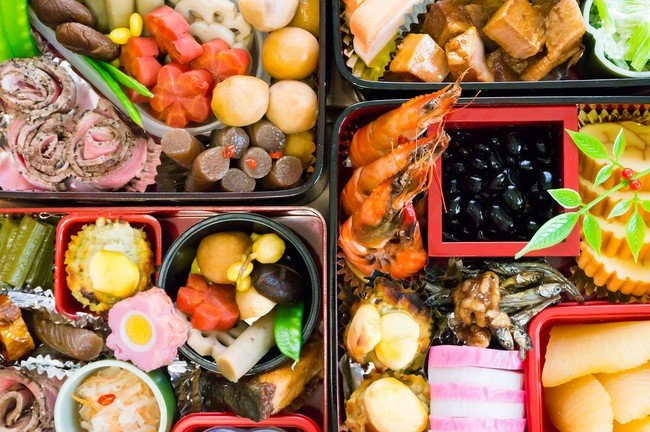O Bento - Japanese Lunchboxes - The Art of Cooking - obento ano novo 3