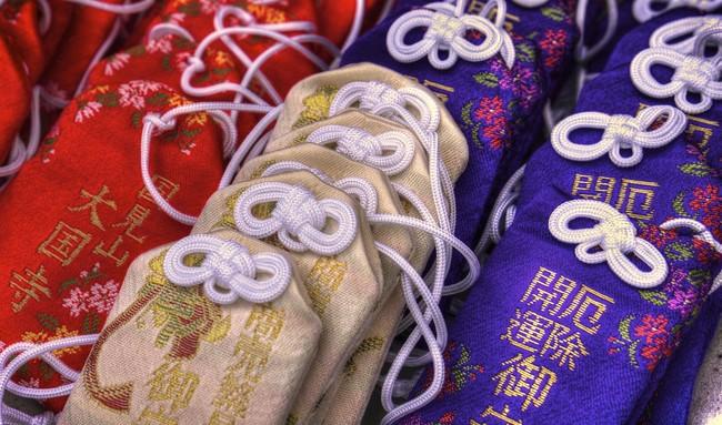Ano novo no Japão - sorte amuletos 3