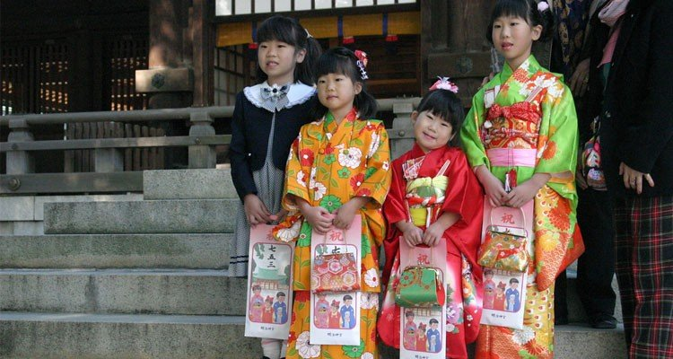 Dia das crianças no Japão - Kodomo no Hi - shichigosan 4