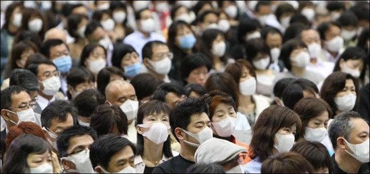 Quais as diferenças entre o Japão e a China? - mascaras 1