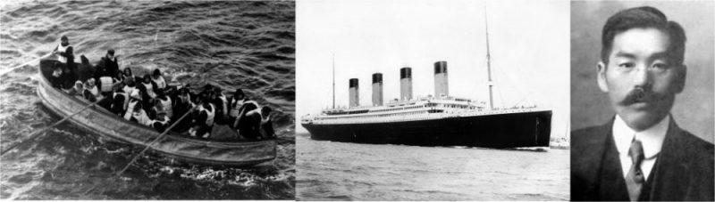 O japonês que sobreviveu ao titanic - navio titanic japones