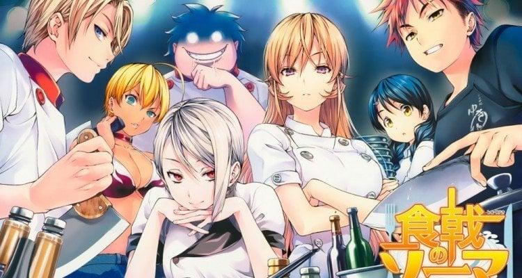 Receitas de Sokugeki no Souma - Risoto de maça - shokugeki no souma anime 1