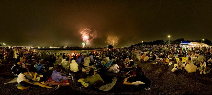Guia hanabi taikai - os fogos de artifício no japão