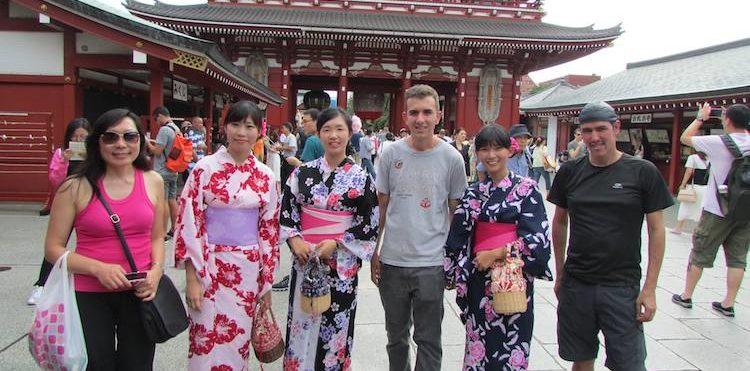 El templo sense-ji en asakusa tokio