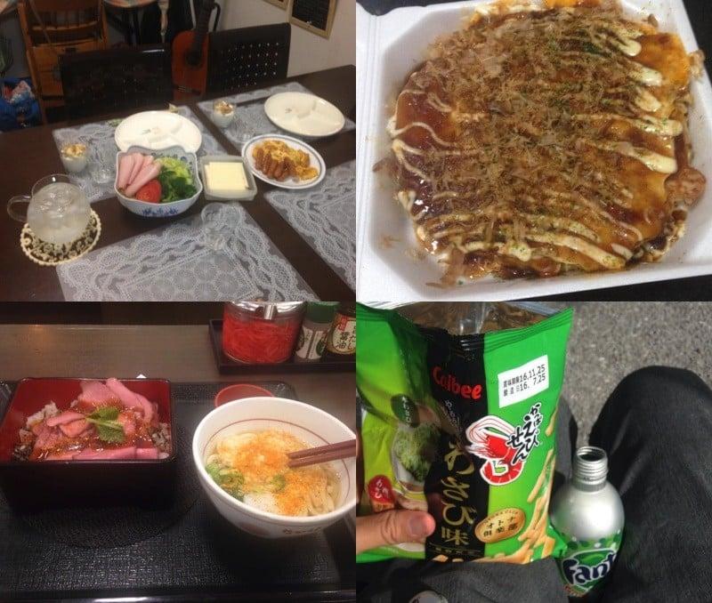 Viagem ao Japão 2016 - O que eu comi? 2