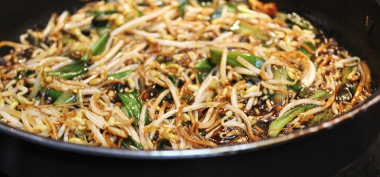 Moyashi – brotos de feijão – barato e nutritivo