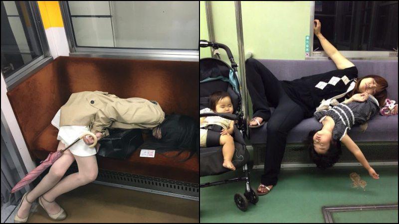 Inemuri - japoneses cochilando em locais públicos