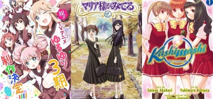 Os melhores Animes Yuri pra você assistir