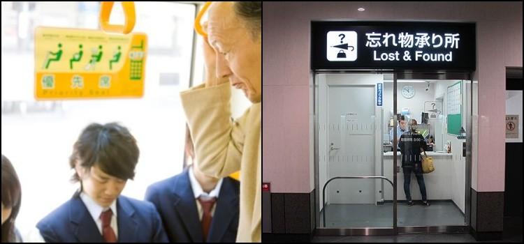Reglas y costumbres del transporte público de Japón