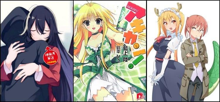 Monster girls - anime con chicas monstruosas o antropomórficas