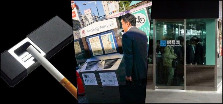 Tudo sobre fumar cigarro ou tabaco no Japão