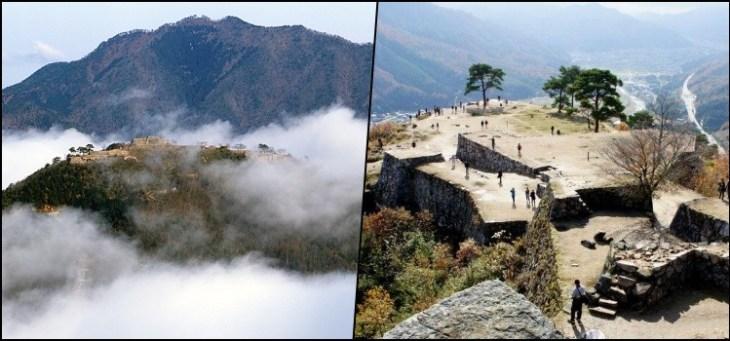 Castelo de Takeda - No mar de Nuvens