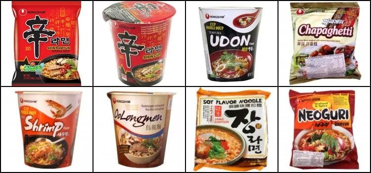 Lamens Coreanos e Promoção na Loja Konbini