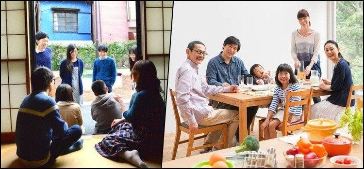 Kazoku - Family Members in Japanese