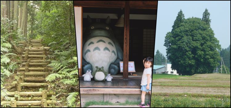 Living the real world of totoro in japan