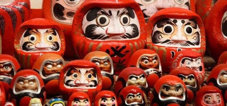 Daruma - curiosidades sobre la muñeca de la suerte japonesa