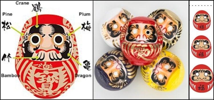 Daruma - Curiosidades sobre o boneco da Sorte Japonês