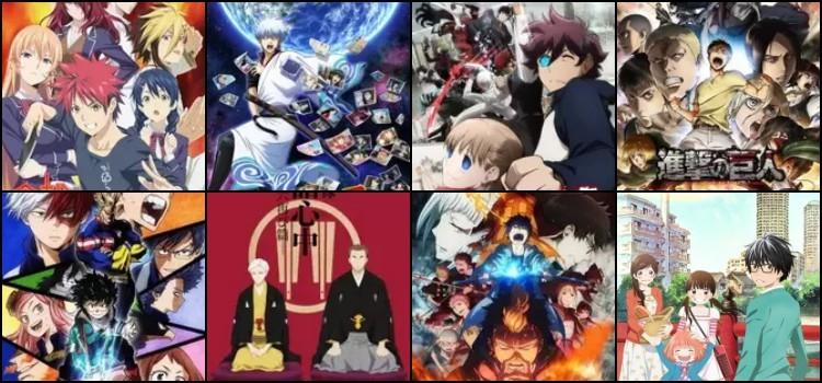 Anime Awards - Os Melhores animes do ano de 2017 - animes temporada 1