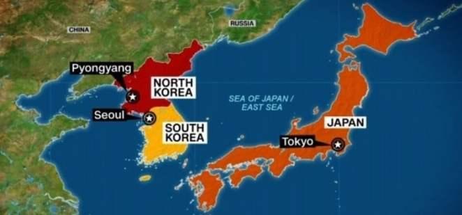 Relação entre Coréia e Japão - Os dois se odeiam?