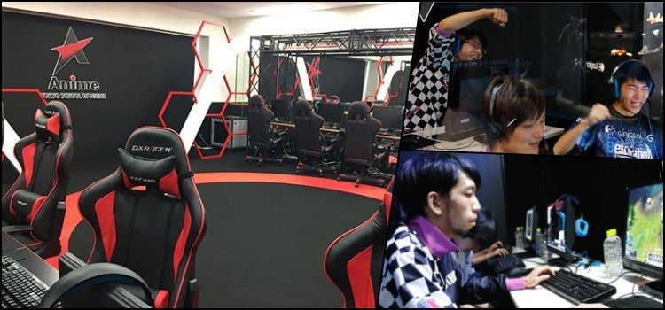 Escola gamer no Japão - Curso de e-sports