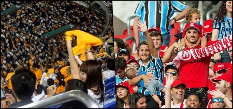Aprenda a ser um torcedor de futebol decente com o Japão