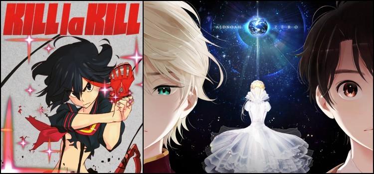 Os melhores animes originais