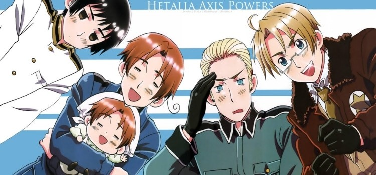 Personagens e animes chibi e super deformed - hetalia 5