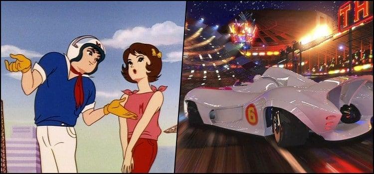 Speed racer- um dos primeiros animes no brasil