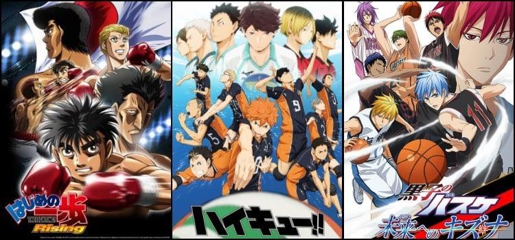Anime thể thao hay nhất