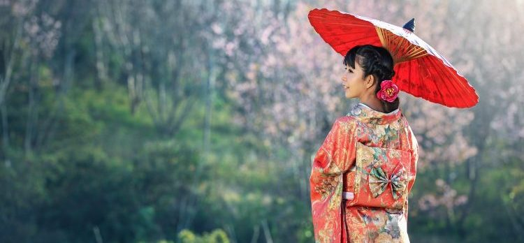 A serenidade, mansidão e harmonia dos Japoneses