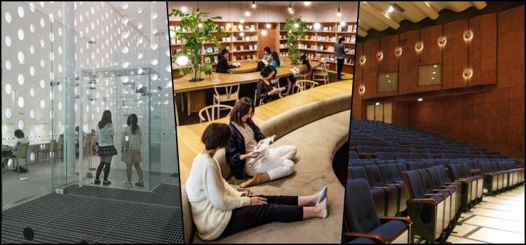 जापान के अद्भुत नगरपालिका पुस्तकालय की खोज करें
