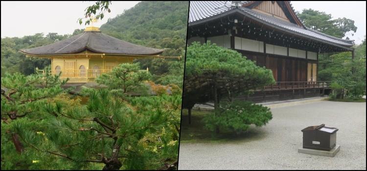 Kinkaku-ji - O templo dourado de Kyoto