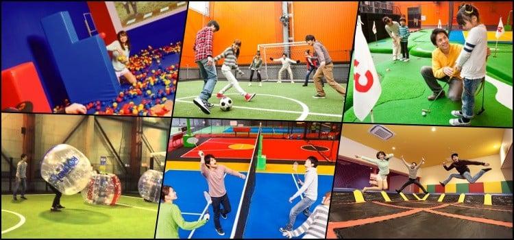 Round1 - spocha - các trung tâm vui chơi giải trí ở Nhật Bản
