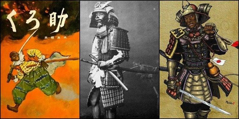 Por que não existe japonês negro? Ou será que tem? - yakuse samurai negro 2