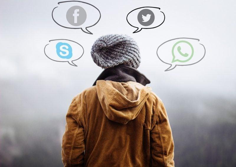 Redes sociais do japão