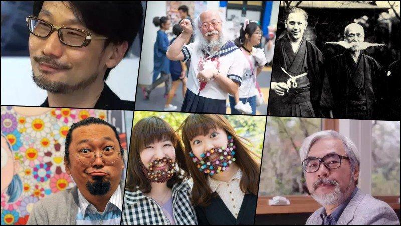 Por que os japoneses não têm ou usam barba? - barbas japao 2