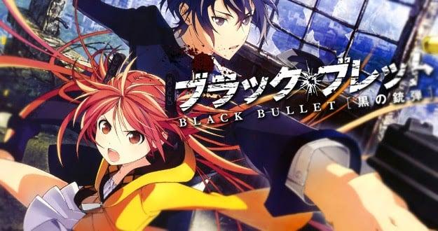 Animes de ação - Melhores animes com lutas e confrontos - black bullet 6