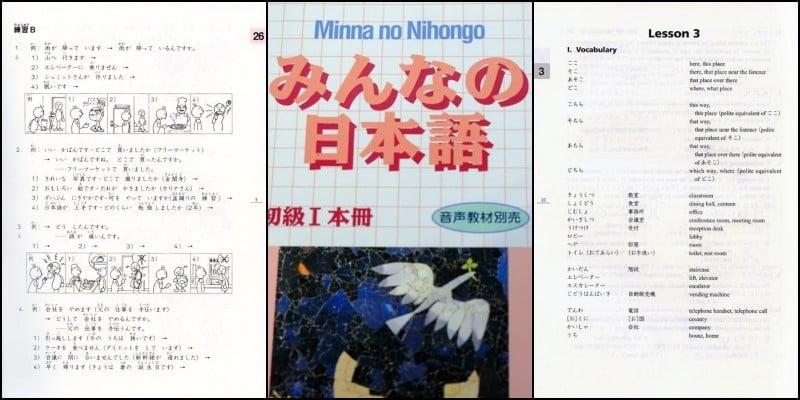 Minna no nihongo - Melhores Livros para Aprender Japonês