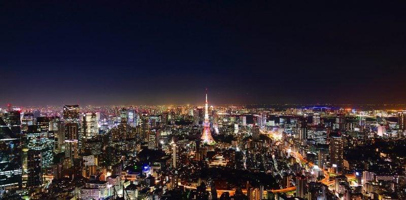 Os 5 Lugares mais perigosos do Japão - tokyo bairro noite 3