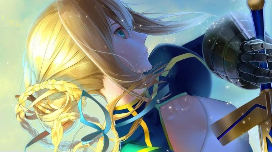 Guia de animes da franquia de jogos fate