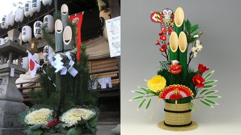 Kadomatsu - Decoração Japonesa de bambu - kodomatsu 1