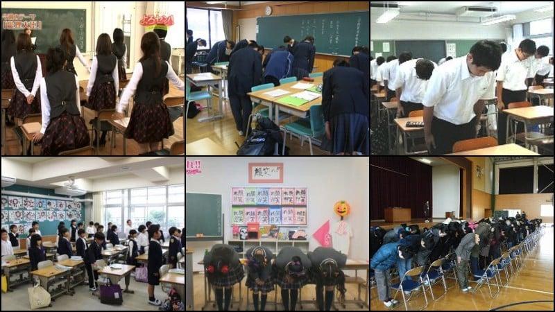 Expressões da Sala de Aula em japonês