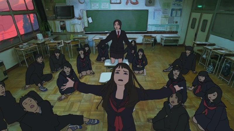 Rotoscopia - O que é? Como é usada nos animes? - hana rotoscopia anime 1