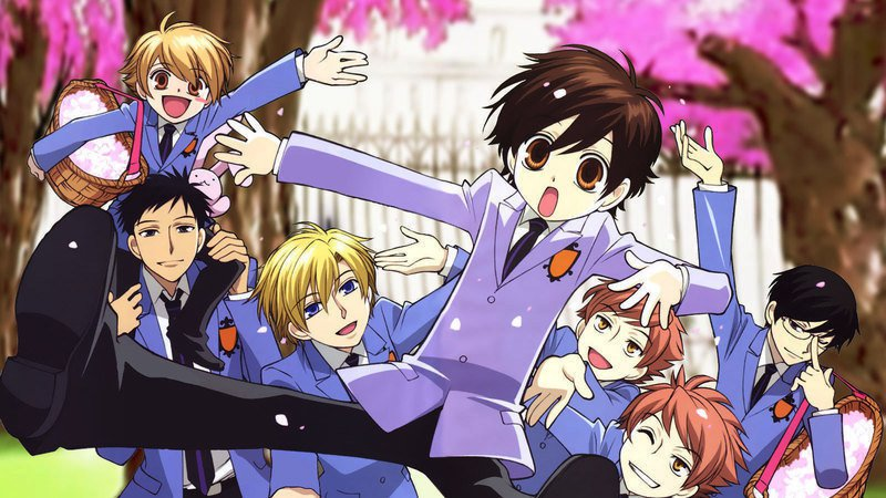 OURAN HIGH SCHOOL HOST CLUB - HAREM DE COMÉDIA