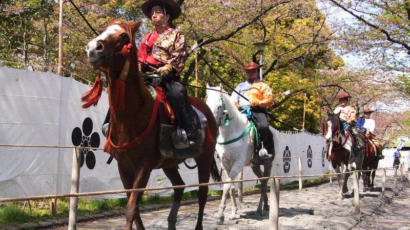 As 10 artes marciais japonesas + lista yabusame [流鏑馬] - tiro ao alvo no cavalo