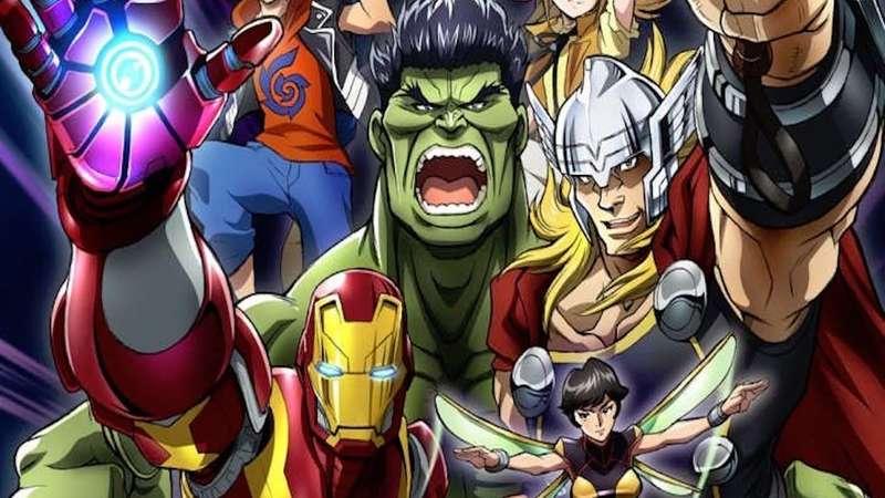 Animes da Marvel e DC - Super Heróis do Ocidente - marvel anime 2