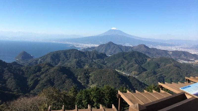 Os melhores locais para ver o monte fuji - monte katsuragi 4